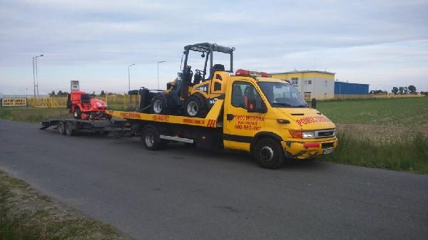 transport maszyn poznan