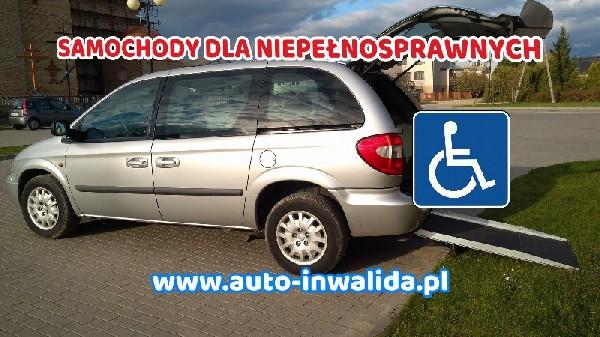 Chrysler Voyager Przystosowany Do Przewozu Osoby Niepełnosprawnej